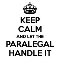 LOOKING FOR A PARALEGAL ROLE?